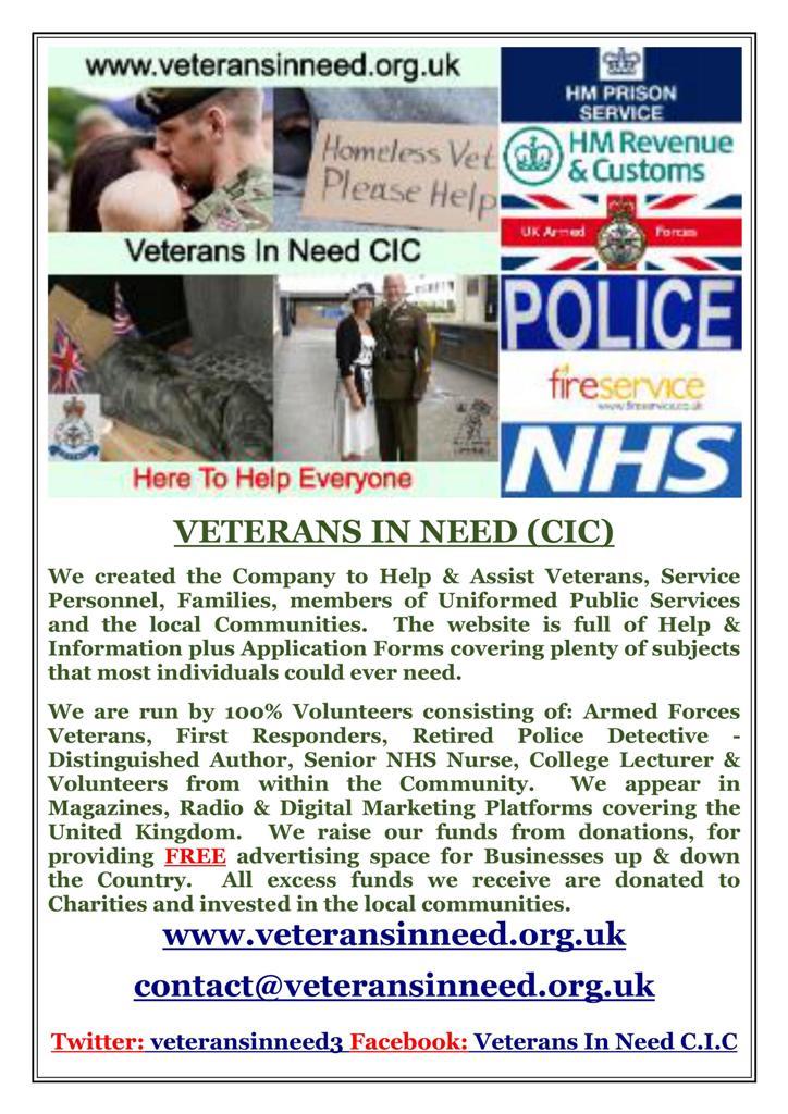 Veterans in need